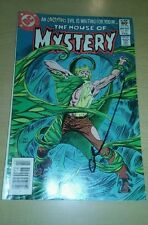 House of mystery 301 signed by gary cohn dc comics comic book vintage horror lot