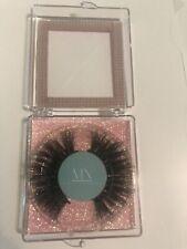 Mink Long Natural Eyelashes With New Box.
