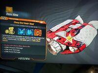 Seein Dead Zane Class mod 3DB weapon, SMG, & pistol dmg Borderlands 3xbox RARE