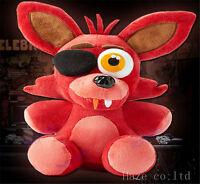 """Five Nights At Freddy's 4 FNAF Freddy Fazbear Foxy Plush Toys Doll 10"""" Present"""