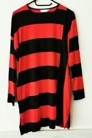 MASAI Hübsches Kleid Gestreift Shirtkleid Longshirt Tunikakleid Gr. S   #LRZ486