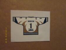 CHL Laredo Bucks Vintage Defunct BUCKS FAN 1 Team Logo Hockey Window Decal
