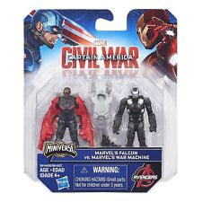 Marvel Miniverse Civil War - Ant-man VS Winter Soldier Action Figure Hasbro