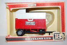 VINTAGE BRITAINS FARM MASSEY FERGUSON  MF200 TRAILER BOXED 9572       N5
