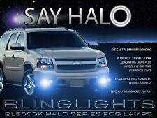 2007-2012 Chevrolet Chevy Suburban Halo Foglamps Angel Eye Fog Lamps Lights Kit