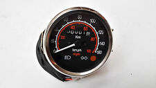 VESPA SPEEDOMETER DUAL READING 0-160KM AND 0-100M P125X P150X P200E NEW.