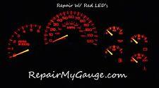 03 04 05 Chevy Silverado ,GMC , Serria  DASH GAUGE , REPAIR with RED LEDs