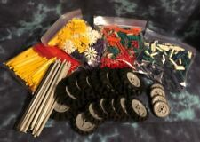 Knex Intermediate # 50015 W/ Orange Case & All Pieces + Manuals - Mint Condition