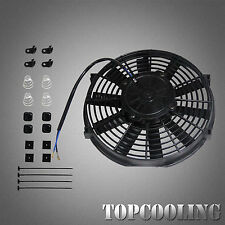 "10"" Inch Electric Radiator Cooling Thermo Fan 120W With Mounting Kits"