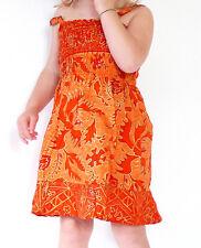Robe Fille 4 - 5 ans Enfant Ethnique Batik Vêtement / orange