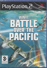 Ps2 PlayStation 2 **WWII: BATTLE OVER THE PACIFIC** nuovo version import inglese