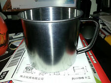 New Stainless Steel Drinking Cup Great for Camping,Hiking,Etc 490 ML