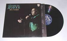 AVE MARIA - Charles Aznavour VINILE 33g (8)