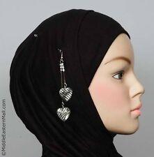 Hijab Pins,brooches,crystal, Abaya,Muslim Prayer,new Scarf Islamic # 3 Silver