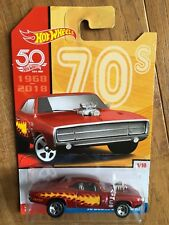 HOT WHEELS TARGET EXCLUSIVE DECADES SERIES '70 DODGE CHARGER R/T Red