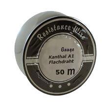 50 Meter 0,3mm Kanthal A1 Flachdraht Heizdraht Wickeldraht Flat Ribbon Wire