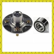 FRONT WHEEL HUB & BEARING 1988-1991 HONDA CIVIC Hatchback W/23 SPLINE EACH