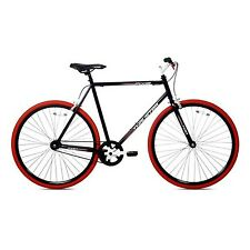 Kent Thruster 700C Men's Fixie Bike Black/Red