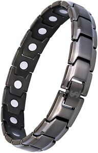 Smarter LifeStyle Elegant Titanium Magnetic Therapy Bracelet