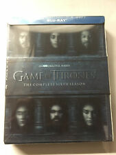Game of Thrones Season six 6 sixth season 6th (Blu-ray Disc) New Sealed in Box