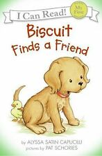 My First I Can Read: Biscuit Finds a Friend by Alyssa Satin Capucilli (2007,...