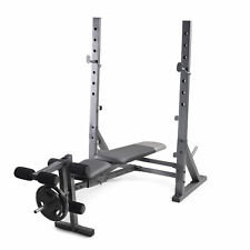 Weider XR 10.1 Olympic Weight Bench w/ Leg Developer + Storage Gold's Gym