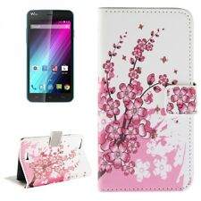 Cover Pattern 6 for Wiko Lenny 2 Book cover Case Wallet Flip