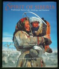 BOOK Siberian Native Life Clothing Footwear ethnic folk costume fur shoes Eskimo