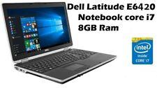 Dell Latitude E6420 HDMI -i7-2.2ghz - 8GB DDR3 - 1000GB  -14inch WIN10/OFFICE