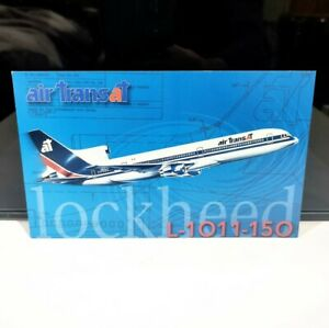 Air Transat Lockheed L1011-150 Tristar Vintage Airline Aircraft Canada Postcard