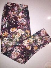 Zara Cotton Blend Capris, Cropped Pants for Women