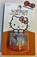 Brand New HELLO KITTY Softlips Cube VANILLA Lip Balm SPF 15