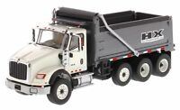 1/50 Scale International HX620 Dump truck White Diecast Masters DM71013