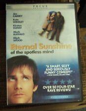 Eternal Sunshine Of The Spotless Mind Dvd full-frame Jim Carrey Kate Winslet