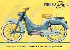 Victoria Moped Preciosa Poster Plakat Bild Affiche Schild Reklame Kunstdruck
