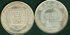 30 EURO ARGENT TEMPORAIRE DES VILLES DE BEAUMONT PERIGORD 1997  ETAT  NEUF
