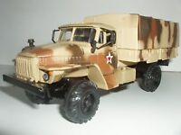 URAL-43206 Army Russian 6X6 military truck 1:43 diecast scale model.
