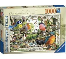 Ravensburger Our Feathered Friends 1000 Piece Jigsaw Puzzle, Birds Xmas Gift Set