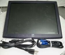 """Elo ET1515L-AUWC-1-GY-G E176383 Monitor 15"""" Touch Screen LCD VGA SEE NOTES"""