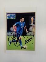Hochglanzfoto, Zambrotta signiert, AC Mailand, Italien, Fußball, Autogramm, Neu