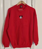 Vintage Mickey Unlimited Jerry Leigh  Sweater Mickey Mouse XL.