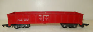 American Flyer Very Rare RED Texas&Pacific Gondola 1952 Only Hard To Find Clean!