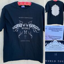 Within Temptation Hydra World Tour North America 2014 T-Shirt Band Concert Tee L