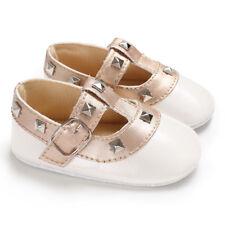 Newborn Baby Girl Soft Stub Princess Shoes Anti-slip Sole Crib Sneaker Prewalker