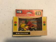 Britain's Ltd Motorcycles, motorcycle model, made in England 1974, 1:32 scale