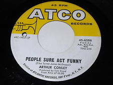 Arthur Conley: People Sure Act Funny / Burning Fire 45