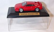 Lotus Esprit V8 Red 1-43 scale  new in case