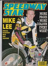 Speedway Star : February 2, 1991. Exeter and Glasgow  track reviews.