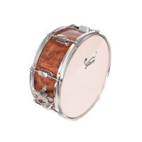 """Glarry Snare Drum Head 14""""x5.5"""" with Drumstick Strap & Key for Student Band"""