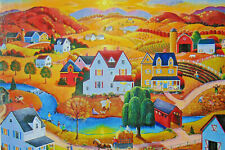 PUZZLE.....JIGSAW.....KLEIN......Country Autumn Sunset ....500 Pc...Sealed